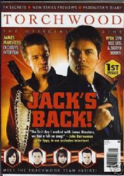 Torchwood Official Magazine #1 Captain Jack Harkness